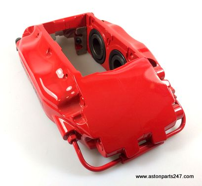 VANQUISH FRONT BRAKE CALIPER LH RED RECONDITIONED – 4R12-280459-AA-AP.