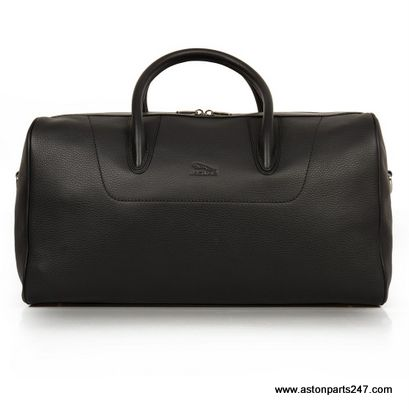 JAGUAR LEATHER WEEKEND BAG / HOLDALL LEATHER BLACK – JBLU340BKA.