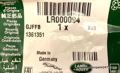 FREELANDER 2 & EVOQUE (L538) ENGINE MOUNTING BOLT – LR000094.