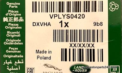 RANGE ROVER VELAR LUXURY MATSET RHD EBONY – VPLYS0420.
