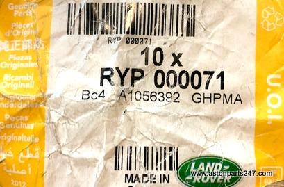 RANGE ROVER L322 BOLT KNUCKLE LOWER BUSH M16 X 98MM – RYP000071.