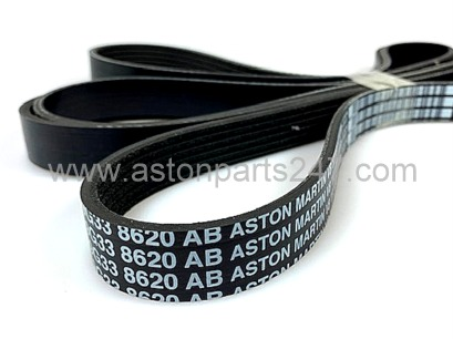 V8 VANTAGE AUXILLIARY FEAD DRIVE BELT – 9G33-8620-AB.