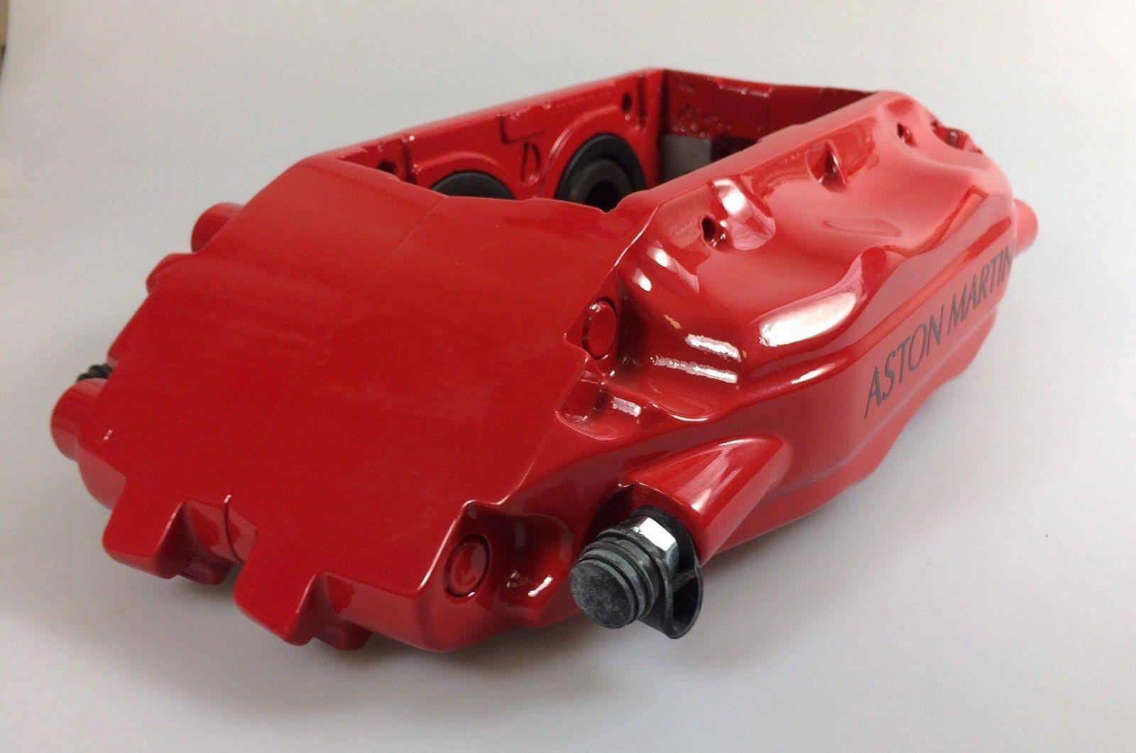 VANQUISH FRONT BRAKE CALIPER LH RED RECONDITIONED – 4R12-280459-AA.