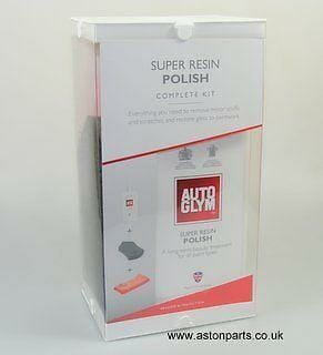 AUTOGLYM SUPER RESIN POLISH COMPLETE KIT WITH FREE AUTOGLYM AIR FRESHENER.