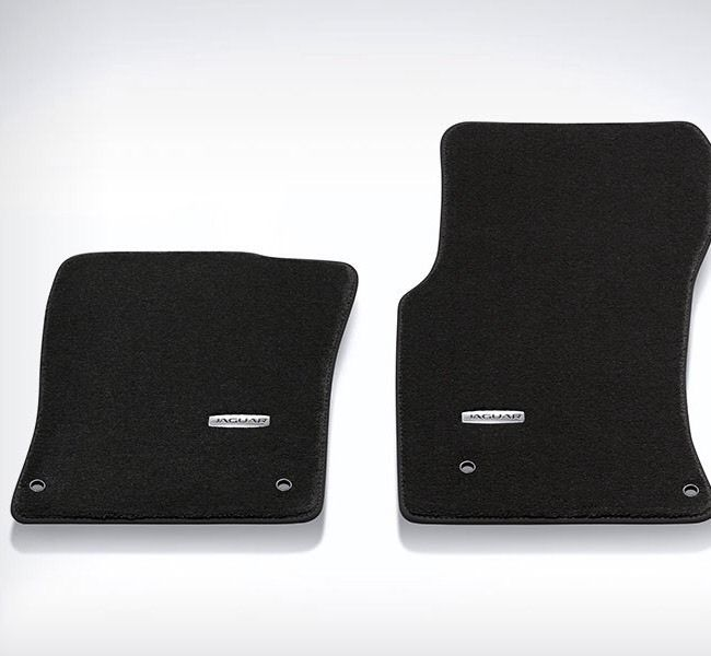 JAGUAR XF (2016 ON) PREMIUM CARPET MAT SET BLACK RHD – T2H7172PVJ.
