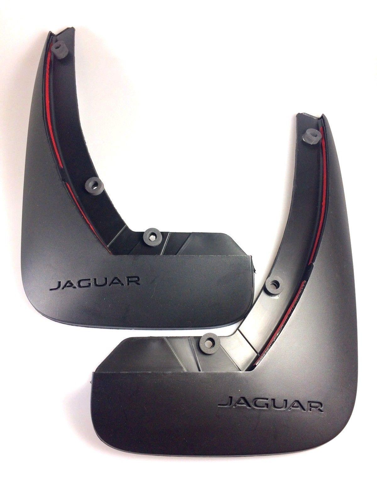 JAGUAR XE (NOT S, R SPORT) FRONT MUDFLAP SET SPLASH GUARDS – T4N7512.